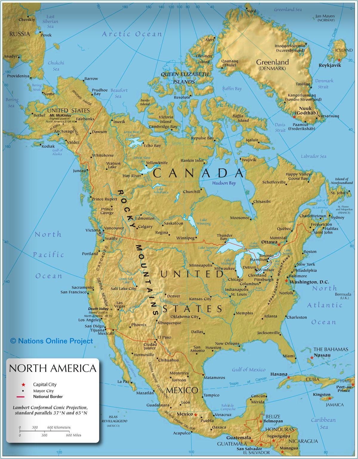 America Occidentale Cartina.Mappa Della Costa Occidentale Dell America Costa Occidentale Dell America Mappa America Del Nord America